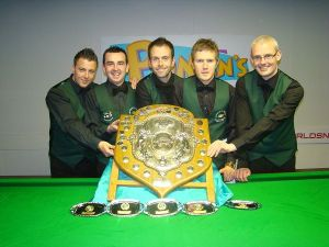 Casey, second from the left, won the Home Internationals in 2012.