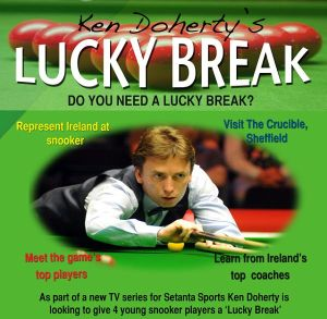 Ken Doherty's Lucky Break