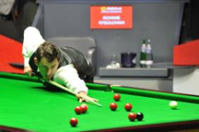 Ronnie O'Sullivan is still the bookies favourite for every event - photo courtesy of Monique Limbos