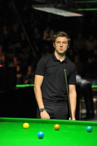 Jack Lisowski at the Antwerp Open - photo courtesy of Monique Limbos.