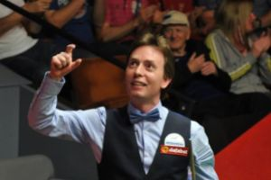 Ken Doherty reached the last 16 last year but failed to qualify for the 2015 championship - photo courtesy of Monique Limbos.