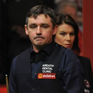 McManus has lost to only Barry Hawkins, Judd Trump and Mark Allen this season - photo courtesy of Monique Limbos.