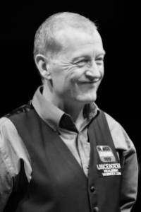 Steve Davis will face even tougher opposition in his title defence - photo courtesy of Monique Limbos.