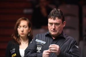 Jimmy White has actually won four games in a row following his qualification for the International Championship last week - photo courtesy of Monique Limbos