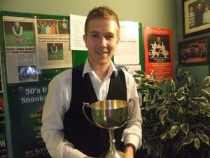 Brendan O'Donoghue - photo courtesy of Ivy Rooms Carlow.