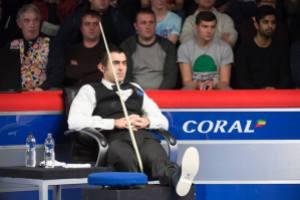 Ronnie O'Sullivan broken ankle