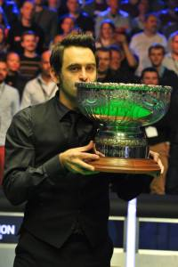 Ronnie O'Sullivan has won both Champion of Champions but wont be returning to make it a hat-trick - photo courtesy of Monique Limbos.