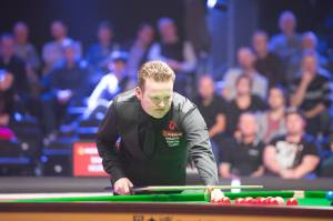 Murphy also had breaks of 66, 58 and 52 in the final - photo courtesy of Monique Limbos.