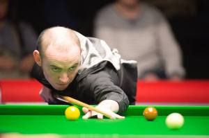 Sutton also played in the UK Championship, losing 6-0 to Ding Junhui - photo courtesy of Monique Limbos.