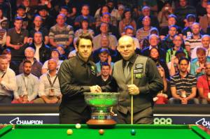 O'Sullivan beat Bingham in the final of the 2013 Champion of Champions - photo courtesy of Monique Limbos.