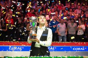 O'Sullivan's highest break in the final was 133 - photo courtesy of Monique Limbos.