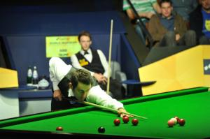 O'Sullivan leads Trump 4-3 in ranking event head-to-heads - photo courtesy of Monique Limbos.