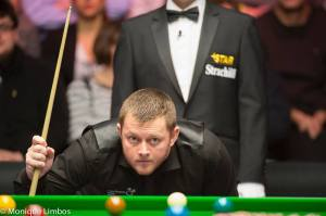 Allen lost to Ricky Walden in last year's final - photo courtesy of Monique Limbos.
