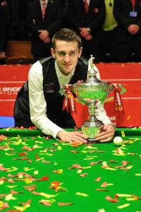 Selby beat O'Sullivan 18-14 in the final last year - photo courtesy of Monique Limbos.