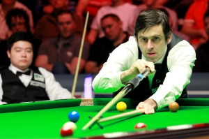 O'Sullivan made a 147 in last year's final.