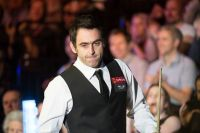 Ronnie O'Sullivan has battled depression for his entire career - photo courtesy of Monique Limbos.