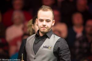 Brecel's best ranking performance is a semi-final appearance in this year's Welsh Open - photo courtesy of Monique Limbos.