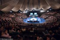 The Tempodrom provides one of the best atmospheres on the calendar - photo courtesy of Monique Limbos.