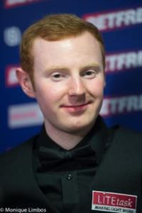 McGill also reached the quarter-finals of the UK Championship in York - photo courtesy of Monique Limbos.