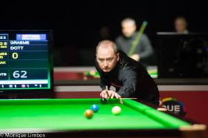Dott lost to Kyren Wilson at this stage in 2014 - photo courtesy of Monique Limbos.