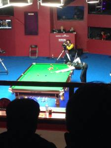 A great view of the final, which Selby won easily 10-2.