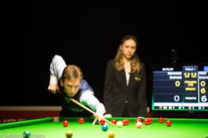 Doherty beat Stephen Hendry to land the title in 1997 - photo courtesy of Monique Limbos.