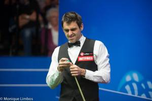 HINT! Ronnie O'Sullivan is on the list - photo courtesy of Monique Limbos.