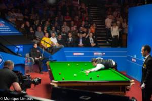 O'Sullivan is chasing a sixth world crown - photo courtesy of Monique Limbos.