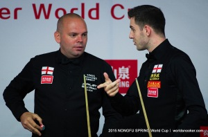 Stuart Bingham and Mark Selby