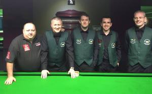 The Irish Men's team with coach PJ Nolan - photo courtesy of PJ.