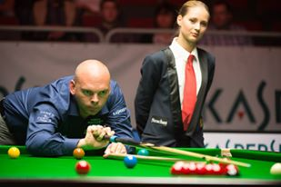 Stuart Bingham - photo courtesy of Monique Limbos.