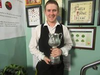 O'Donoghue beat Jason Devaney in the last four - photo courtesy of Ivy Rooms Carlow Facebook Page.