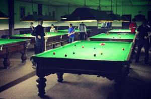 CrossGuns Snooker Club will be a hub of action again this Saturday - photo courtesy of Fin Ruane.