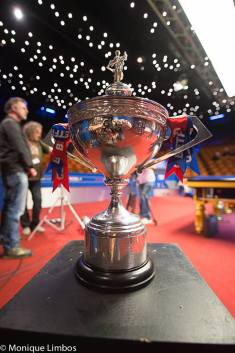Betfred World Championship trophy