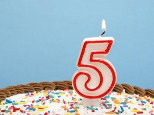 Five birthday