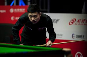 Ding Junhui. Photo credit: Tai Chengzhe