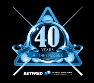 The Betfred World Championship at the Crucible