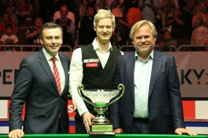 Neil Robertson will be defending his title in Riga