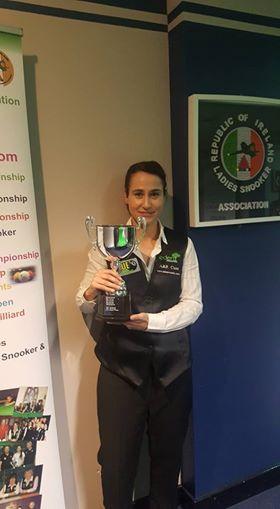 Paula Judge RILSA champion (PJ)