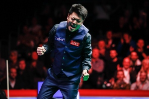 Liang Wenbo won the English Open last season
