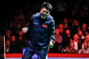 Liang Wenbo won the English Open last season