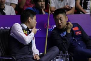 Ding Junhui Liang Wenbo World Cup