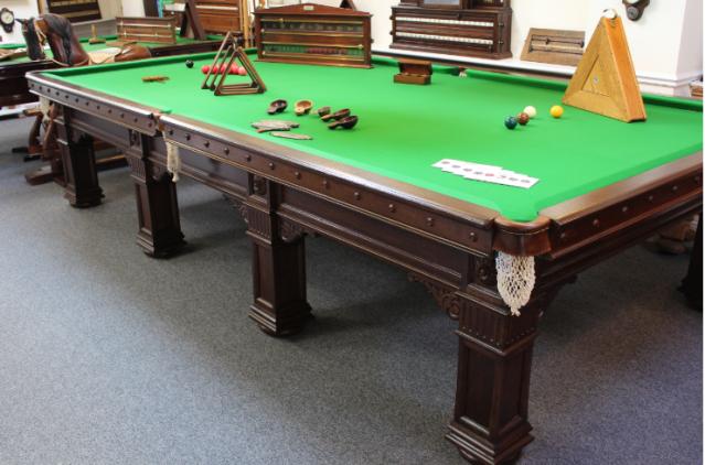 Fs Orme & Son Oak Snooker  Billiard Table.png