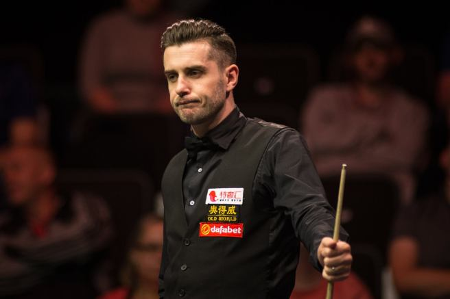 Selby had to dig deep in trademark fashion. Photo credit: World Snooker